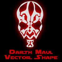 Darth Maul Vector Shape by Retoucher07030
