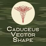 Caduceus Medical Vector Shape