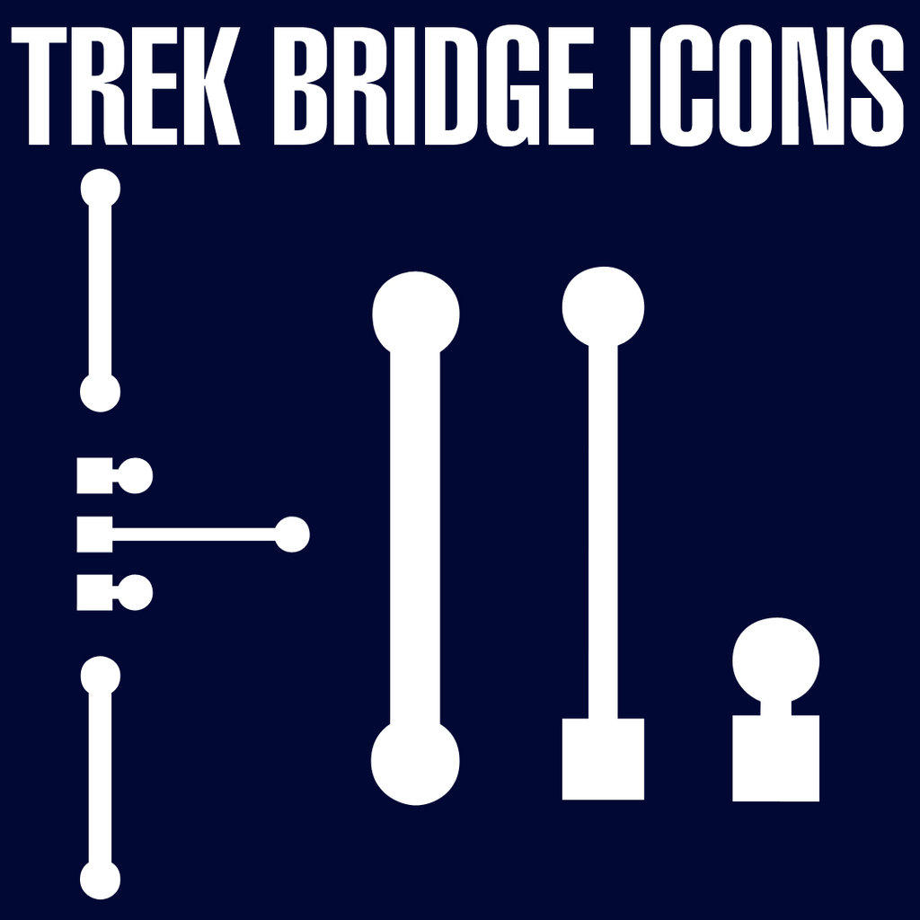 Trek XI Bridge Icons Set 2 by Retoucher07030
