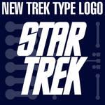 Trek XI Logo Type Shape