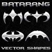 New Batman Vector Shapes by Retoucher07030