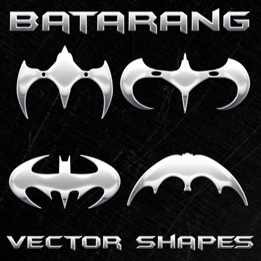 New Batman Vector Shapes New_Batman_Vector_Shapes_by_Retoucher07030