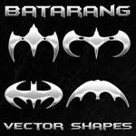 New Batman Vector Shapes
