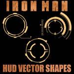 Ironman HUD Vector Shapes