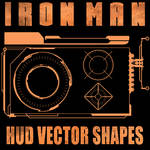 Ironman HUD Shapes Set 2