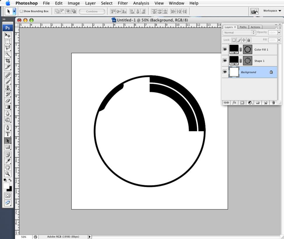 how to create a custom shape in photoshop