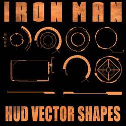 Ironman HUD Shapes for PSP
