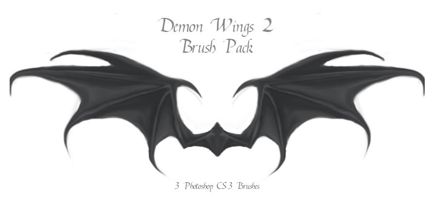 Demon Wings 2 by advs14u2nv
