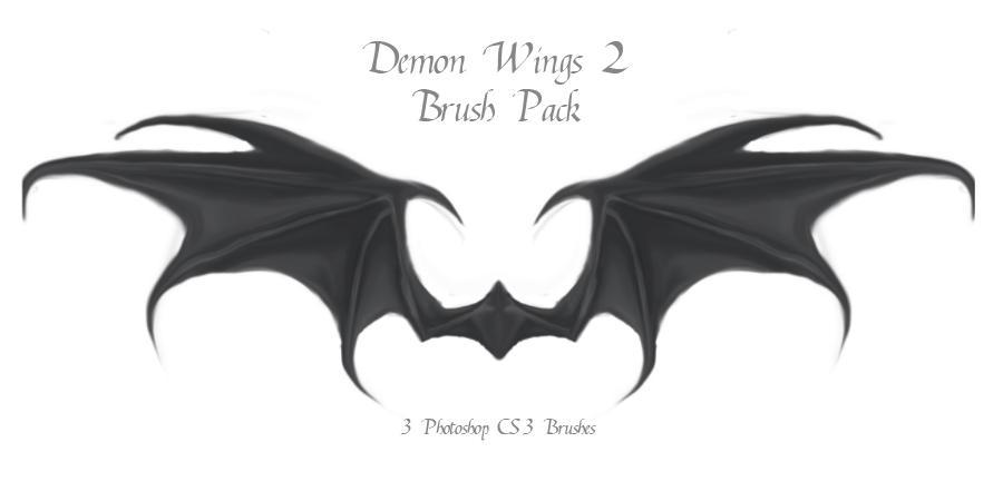 Demon Wings 2 by advs14u2nv