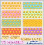 PATTERN SET 002 - Gold Star