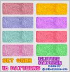 PATTERN SET 003 - Glitter