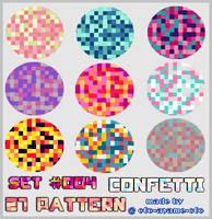 PATTERN SET 005 - Confetti by AndreeaArsene
