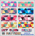 PATTERN SET 006 - Disco