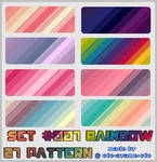PATTERN SET 007 - Rainbow