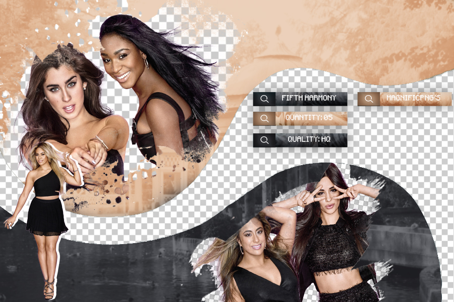 +Pack Png - Fifth Harmony by Magnific-Pngs