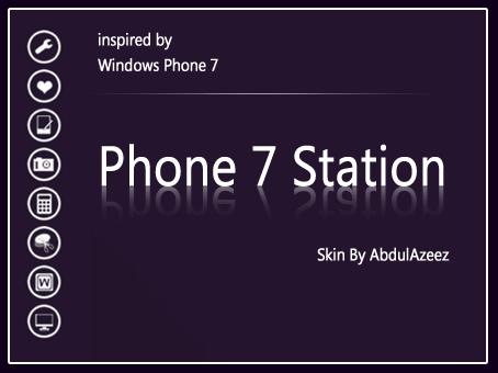 Phone 7 Station by azeez4u