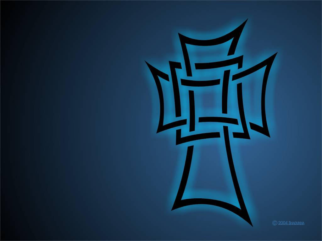 tribal cross wallpaper by - photo #1