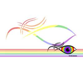 Eye Eye Rainbow..... by shadukha
