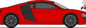 Audi R8 - PSD STOCK