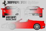 Ferrari F430 - Psd Stock