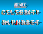 Celebrity Alphabet Psd Pack