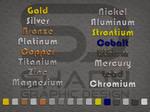 Metalic Text Styles
