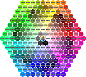Color Reference Hexagon by shady06