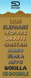 Safari Layer Styles by shady06