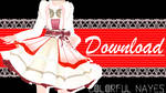 .:Red Dress Download:. by ColorfulNayes