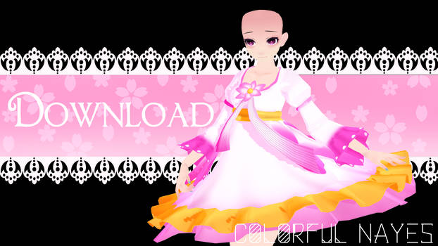 .:Flower Dress Download:. by ColorfulNayes