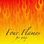 Four Flames for Gimp