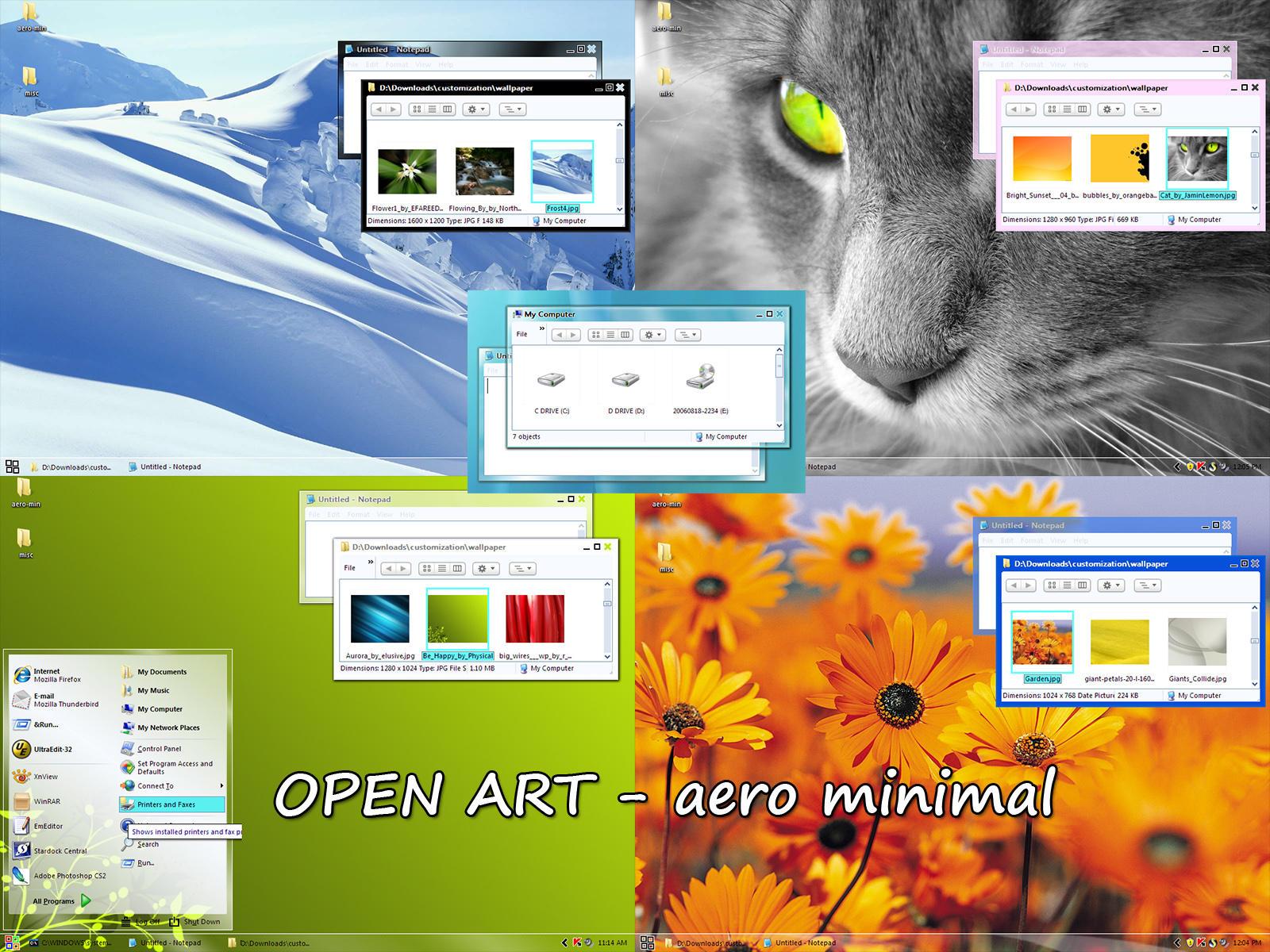 aero minimal WIP by nextmario