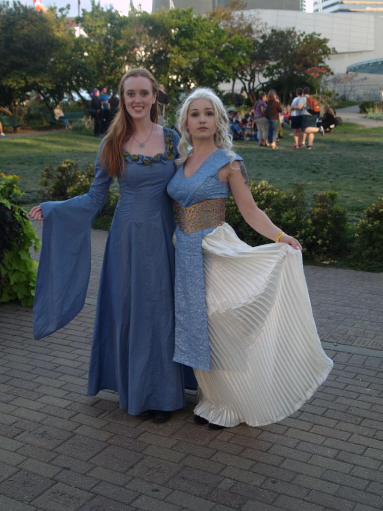 Sansa And Dannerys by Neville6000
