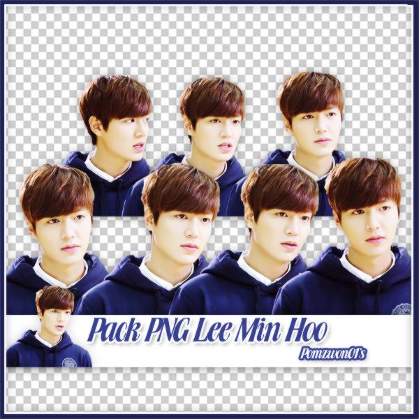 Pack PNG Lee Min Hoo by pomzwon01