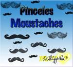 Pinceles moustaches para PSP