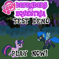 Defenders of Equestria Test Demo by SonicFFVII