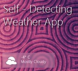 Self-Detecting Weather for Rainmeter