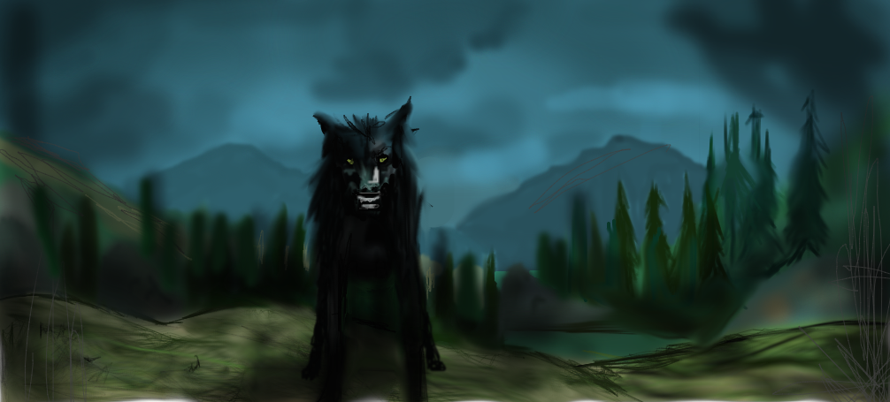 Padfoot by Maheen-S on DeviantArt