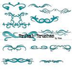 Tribal Brushes