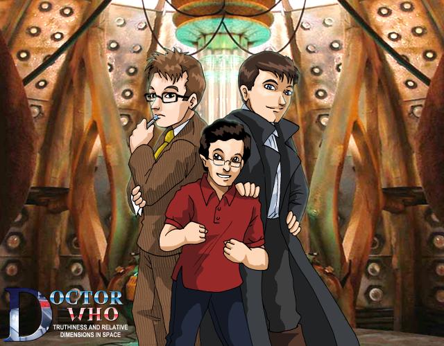 Truthiness - Team TARDIS Ten by ErinPtah