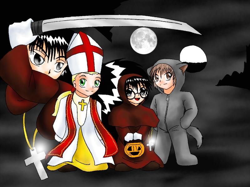 V. - Halloween Iscariot Kids