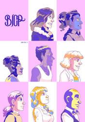 Pop Art Beings -animated- by ErinPtah