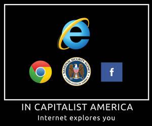 Internet explores you