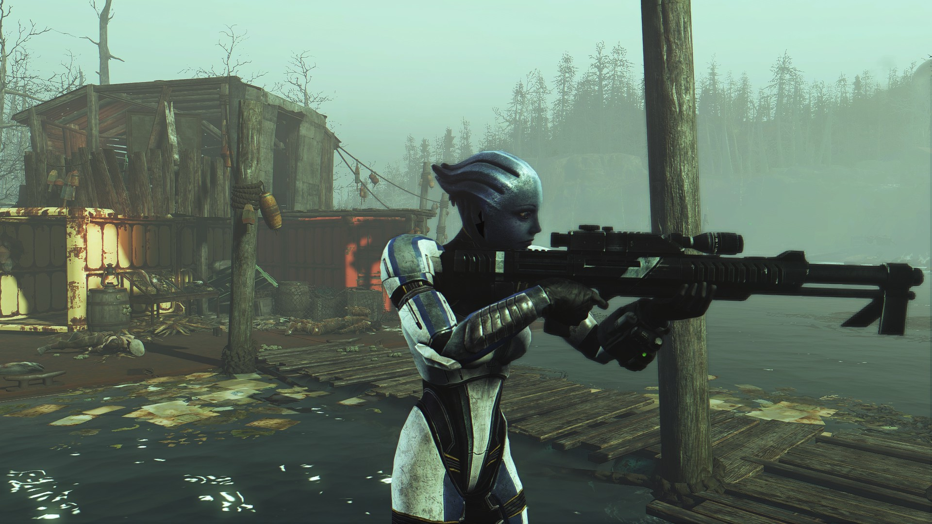 Mass Effect 3 Weapons Pack 1 For Fallout 4 By Shiala92 On