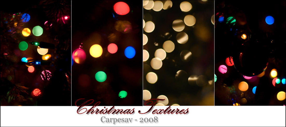Christmas Textures Package by CarpeSav