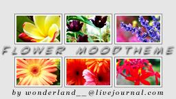 Flower Moodtheme by Foxxie-Chan