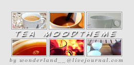 Tea Moodtheme