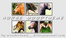 Horse Moodtheme by Foxxie-Chan