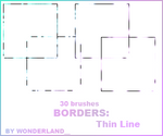Thin Line Borders