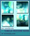 20 Circle Texture Bases